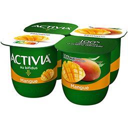 Activia - Lait fermenté au bifidus mangue