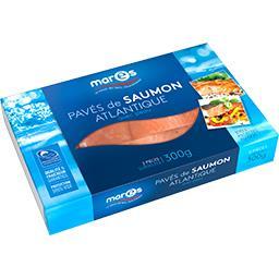 Marès Marès Pavés de saumon atlantique avec peau la boite de 2 - 300 g