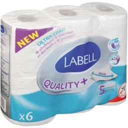 Papier toilette blanc Le Premium 5 épaisseurs