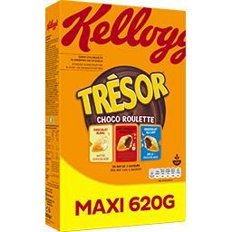 Trésor - Céréales Choco Roulette mix de 3 saveurs
