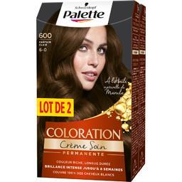 Palette - Coloration châtain clair 600