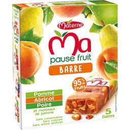 Ma Pause Fruit - Barre aux fruits pomme abricot poire