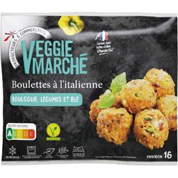 Boulettes à l'italienne boulgour légumes et blé