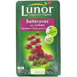 Lunor Lunor Légumes Vapeur - Betteraves en cubes la barquette de 500 g