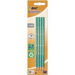 Bic Bic Crayon graphite Evolution Ecolutions HB le lot de 4