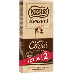 Dessert - Chocolat noir corsé
