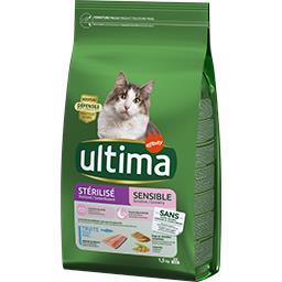Ultima Ultima Croquettes pour chats stérilisés le paquet 1,5 kg