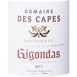 Gigondas Domaine des Capes vin Rouge 2017