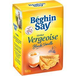 Spécialité sucrière saveur Vergeoise Blonde de vanil...