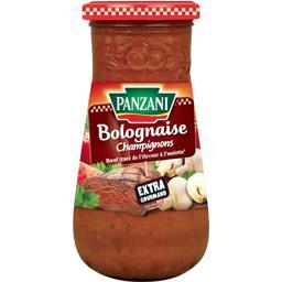 Sauce bolognaise champignons