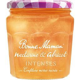 Bonne Maman Bonne Maman Confiture nectarine & abricot le pot de 335 g
