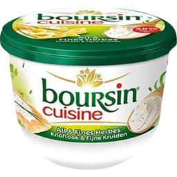 Boursin Boursin Cuisine, Fromage ail & fines herbes le pot de 240 g