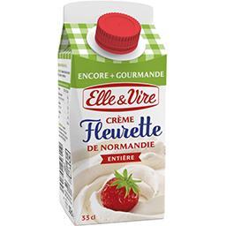 Crème fleurette de Normandie entière