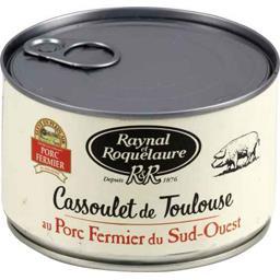 Cassoulet de Toulouse au porc fermier du Sud-Ouest