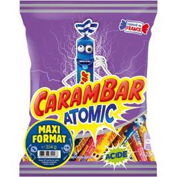 Carambar Bonbons Atomic 3 parfums explosifs le paquet de 354g maxi format halloween