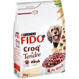 Croquette Croq & Tendre bœuf  pour chien