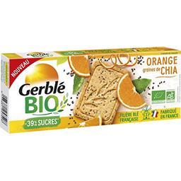 Gerblé Gerble Bio Sablés orange graine de chia BIO le paquet de 130g