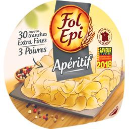 Tranches de fromage Extra fines 3 poivres