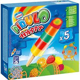 Pirulo Pirulo Glace à l'eau Happy les 5 glaces de 70 g