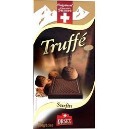 Chocolat mi-amer à la truffe