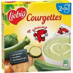 Liebig Liebig Soupe de courgettes au fromage La Vache qui Rit les 2 briques de 30 cl