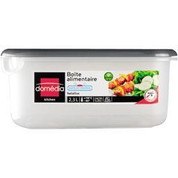 Kitchen - Boite alimentaire rectangulaire 2,3 L valve d'air