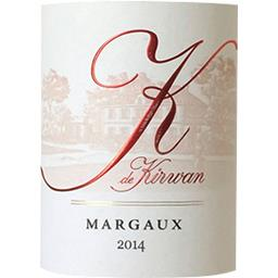 Margaux K de Kirwan - Second vin Rouge 2014