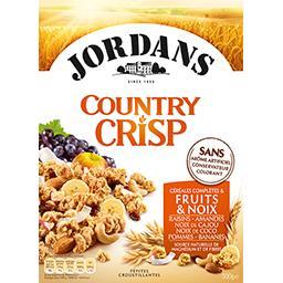 Country Crisp - Céréales complètes & fruits & noix