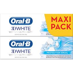 Oral B 3d white - whitening therapy - protection émail - de...