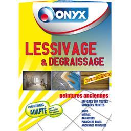 Onyx Lessivage & dégraissage la boite de 1,250 kg