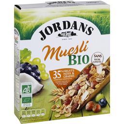 Céréales Muesli BIO aux fruits & noix