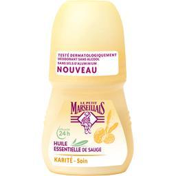 Le Petit Marseillais Déodorant soin douceur karité & huile essentielle de...
