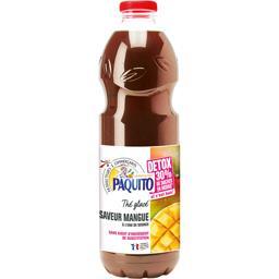 Paquito Boisson thé glacé Détox saveur mangue la bouteille de 1,5 l