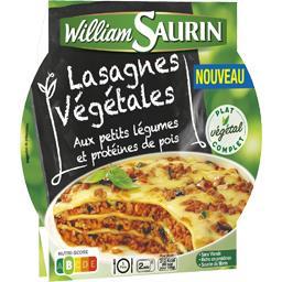 Lasagnes végétales aux petits légumes et protéines d...