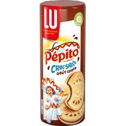 Pépito - Biscuits Croc Sablé goût choco