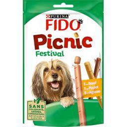 Fido Fido Bâtonnets Picnic Festival pour chiens le sachet de 126 g
