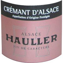 Crémant d'Alsace Hauller Brut vin Rosé