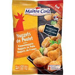 Maître Coq Maître Coq Nuggets de poulet le sachet de 1 kg