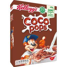 Kellogg's Kellogg's Coco Pops - Céréales au chocolat la boite de 350 g