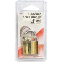 Cadenas acier massif 38mm