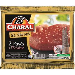 Charal Charal Les Marinés - Pavés à l'échalote les 2 pavés de 130 g