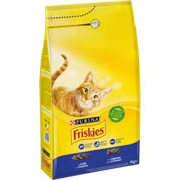 Friskies Friskies Croquettes au colin et légumes pour chats le sac de 4 kg