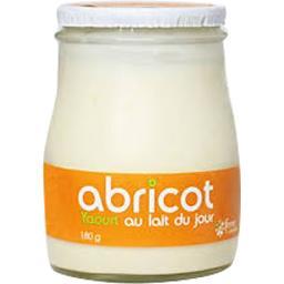 Sélectionné par votre magasin Yaourt au lait du jour abricot le pot de 180 g