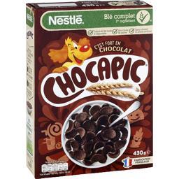 Nestlé Nestlé Céréales Chocapic - Céréales au chocolat la boite de 430 g