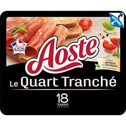 Aoste Jambon cru Le Quart tranché