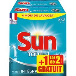 Sun Tout en 1 - Tablette lave vaisselle le boites de 910 g
