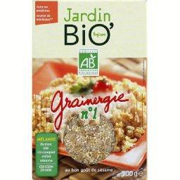 Grainergie n°1, mélange BIO de quinoa, blé, riz complet, millet et sésame