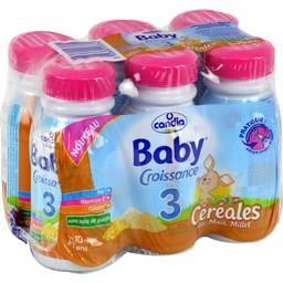 Baby Croissance - Lait et céréales bébé 3, 10 mois à...