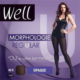 Morphologie - Collant opaque Regular noir T +1m65