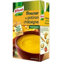 Knorr Knorr Soupe Douceur de potiron châtaigne la brique de 1 l